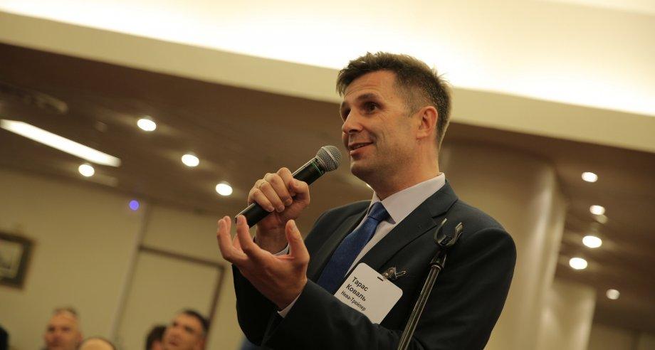 Глава «Нева-Трейлер» Тарас Коваль принял самое активное участие в прошедшей конференции «Транспортная логистика. Грузовые автоперевозки» (фото: ATO Events)