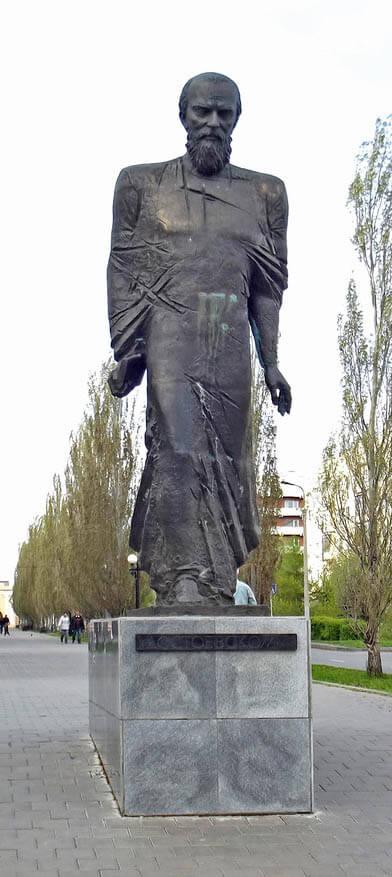 проект памятника Достоевскому в Омске