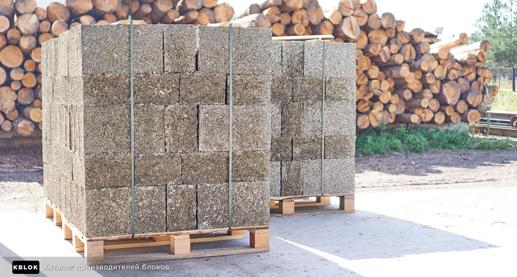 На производстве деревобетона