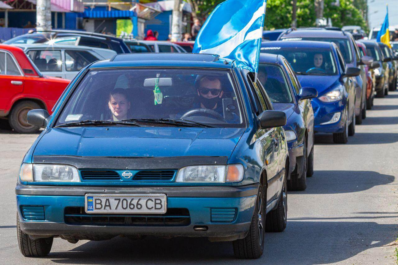 Активисты Партии Шария организовывали автопробег - фото