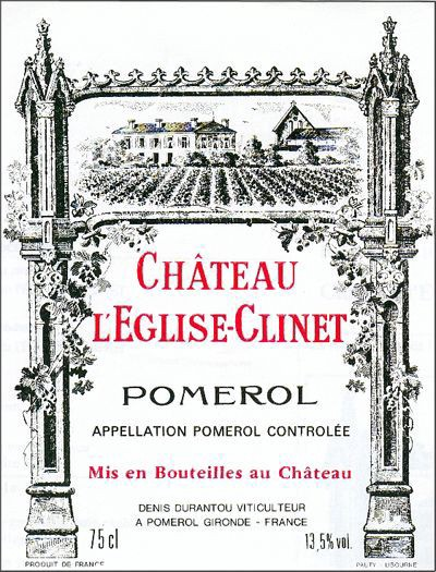 Château L'Eglise Clinet