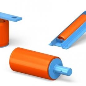 Дефлекторные ролики на конвейер для чего нория это транспортер