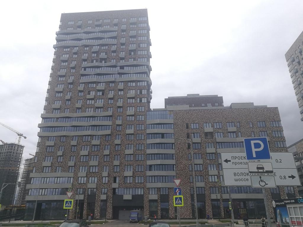Приемка в ЖК «Город на реке Тушино-2018»
