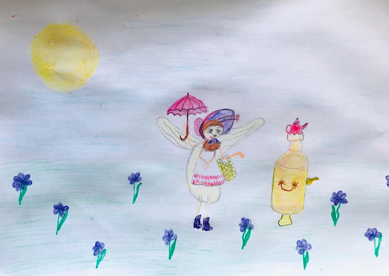 Плотникова Мария; 8 лет