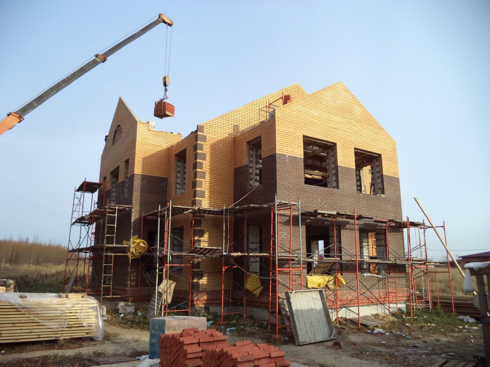 незавершенное строительство частного дома