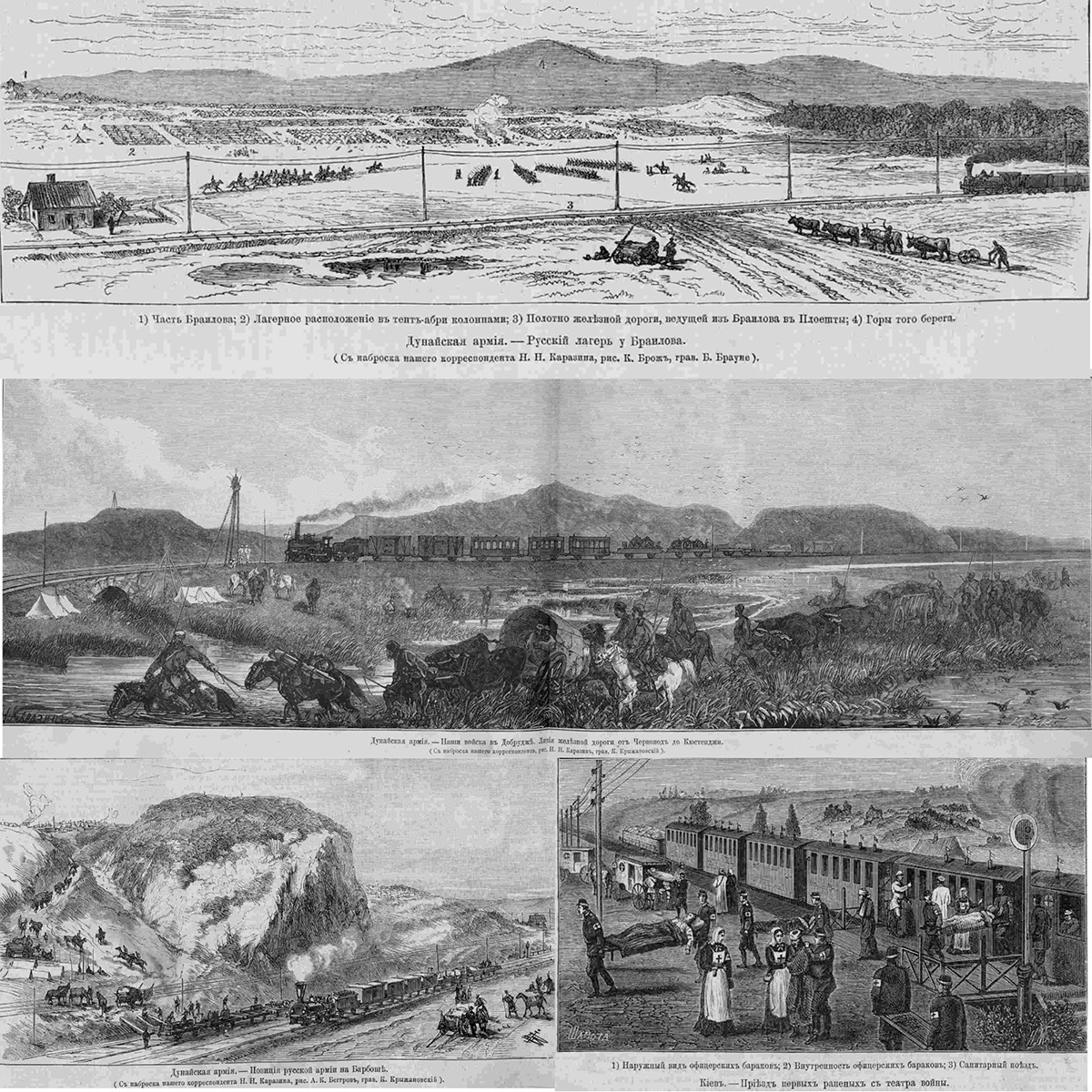 Железные дороги в Русско-турецкой войне 1877–1878 гг.