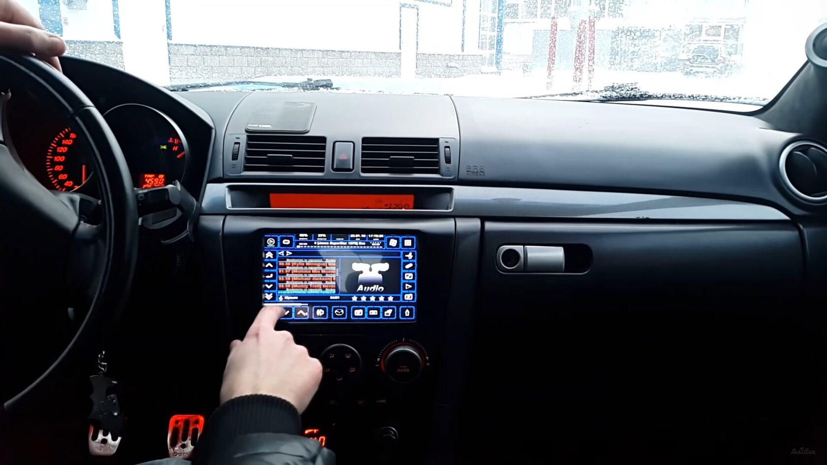 car pc мазда 3