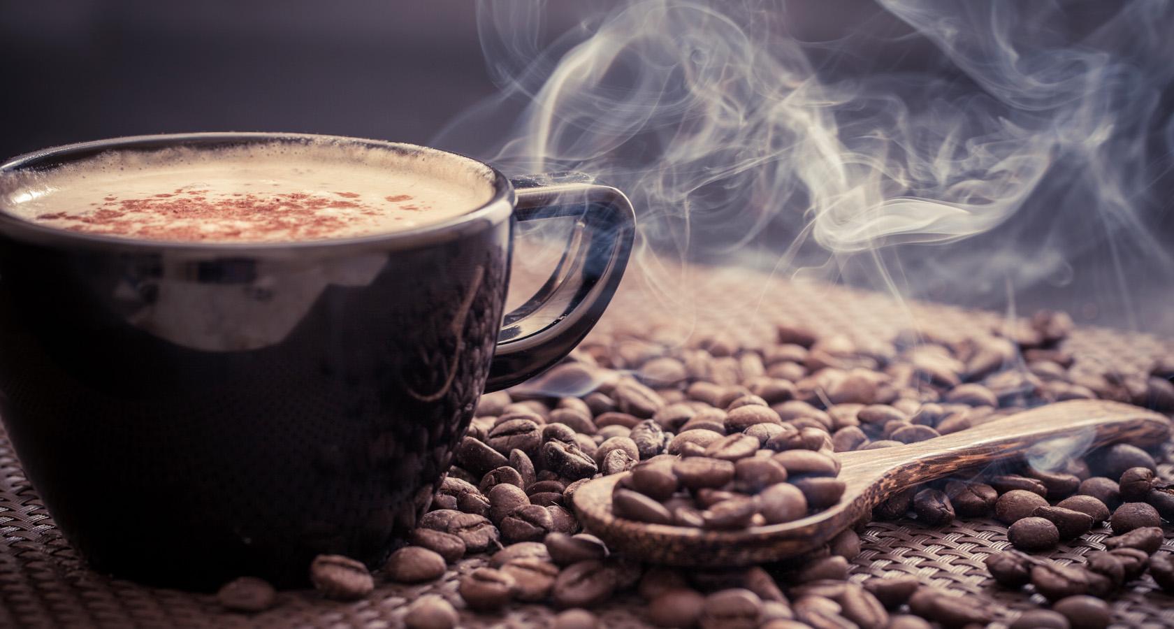 Чем хороша достака кофе