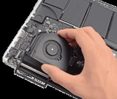 замена вентилятора macbook в алматы