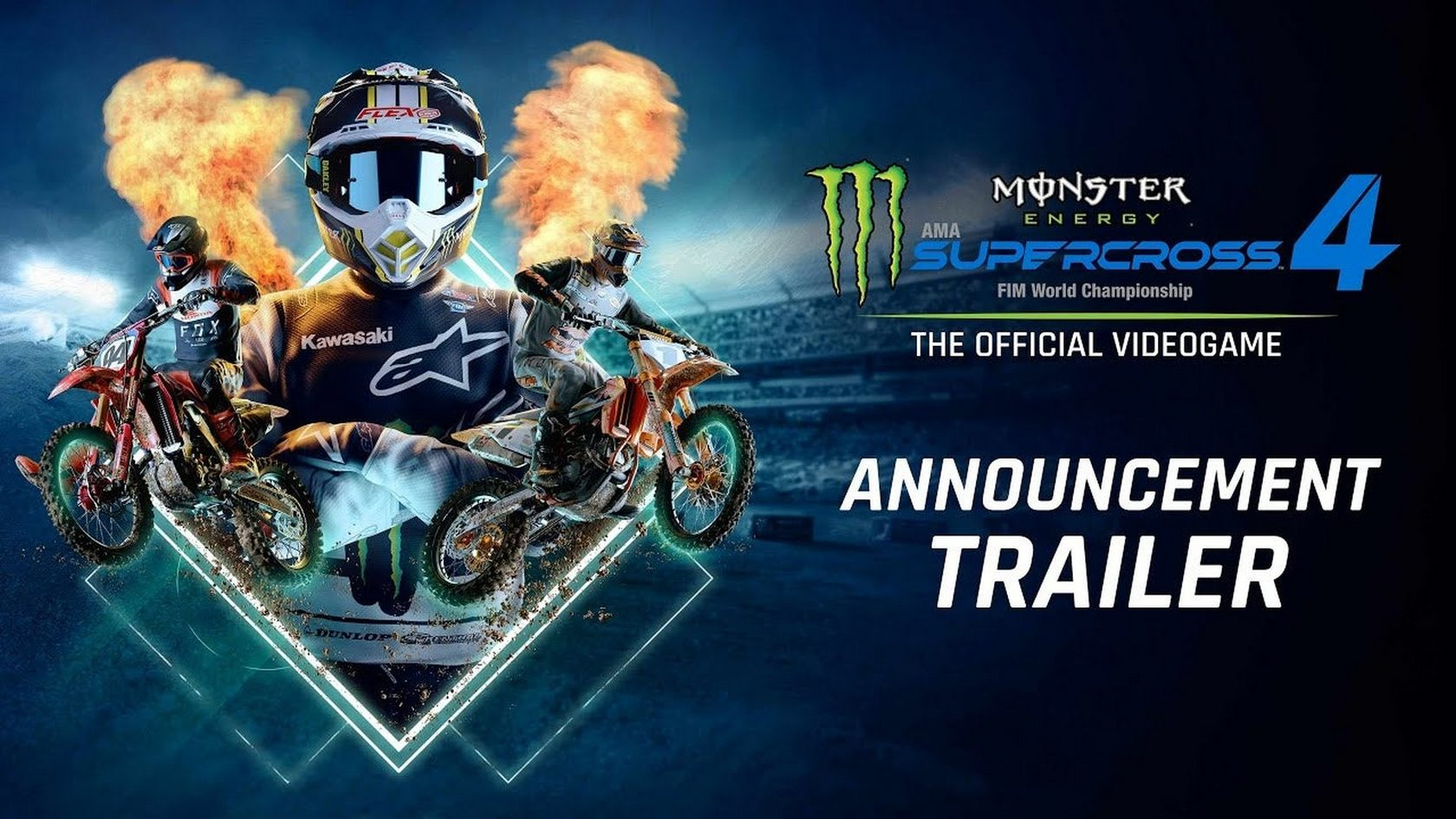 Анонсирована новая видеоигра Monster Energy Supercross 4