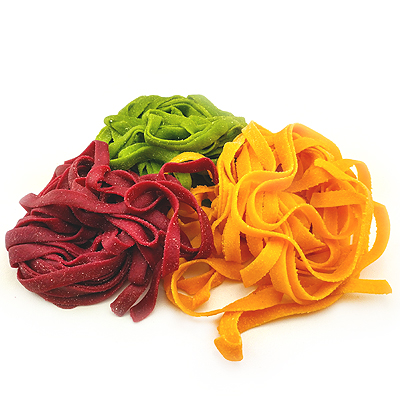 Цветная паста и макароны | Плантос | Свежая паста