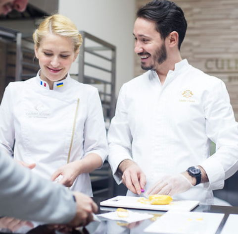 two pastry chefs