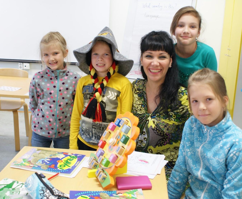 Языковой лагерь в Финляндии, языковые каникулы в Финляндии, зимние каникулы в Финляндии, встреча Рождества с Санта-Клаусом