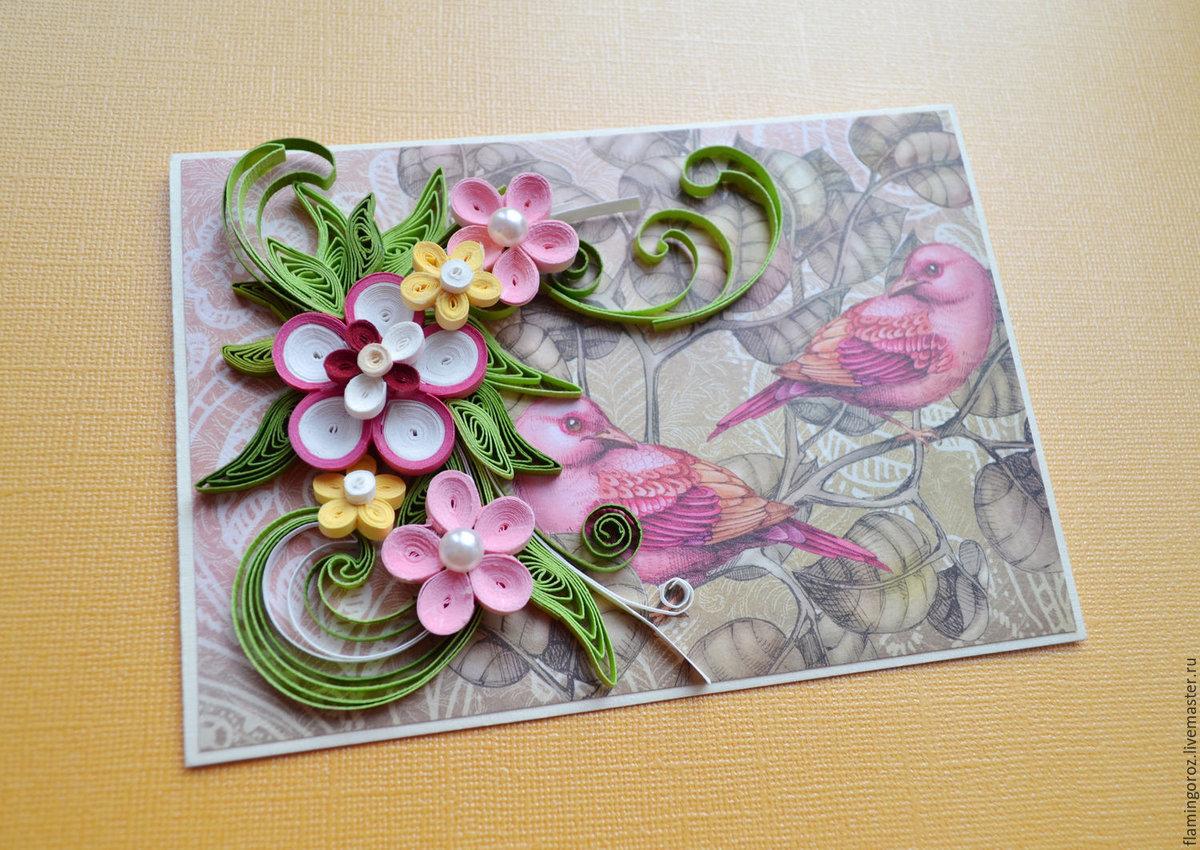 Нарисованная, мастер-класс по объемных открытках