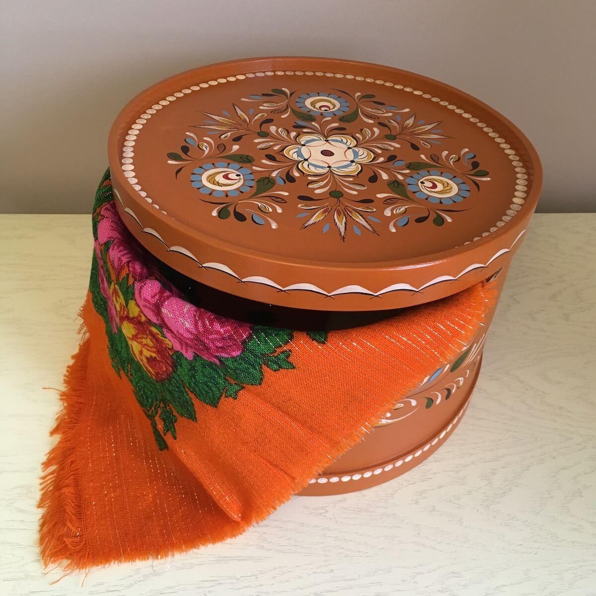 необычный подарок маме или бабушке – короб, шкатулка для хранения