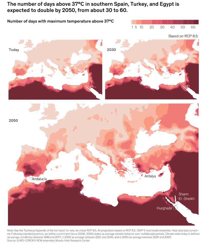 влияние потепления на Португалию