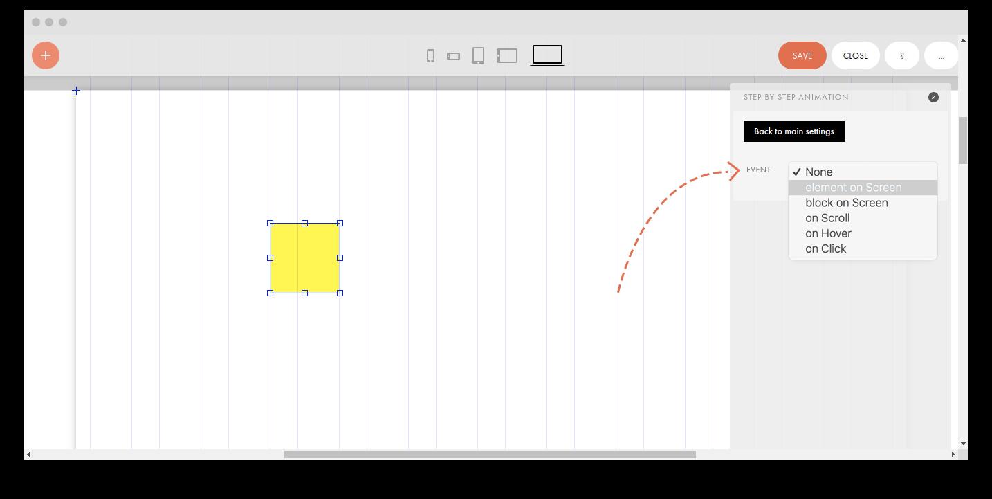 Zero Block: Step-by-step animation