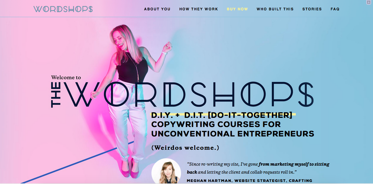 Copywriting Courses For Unconventional Entrepreneurs