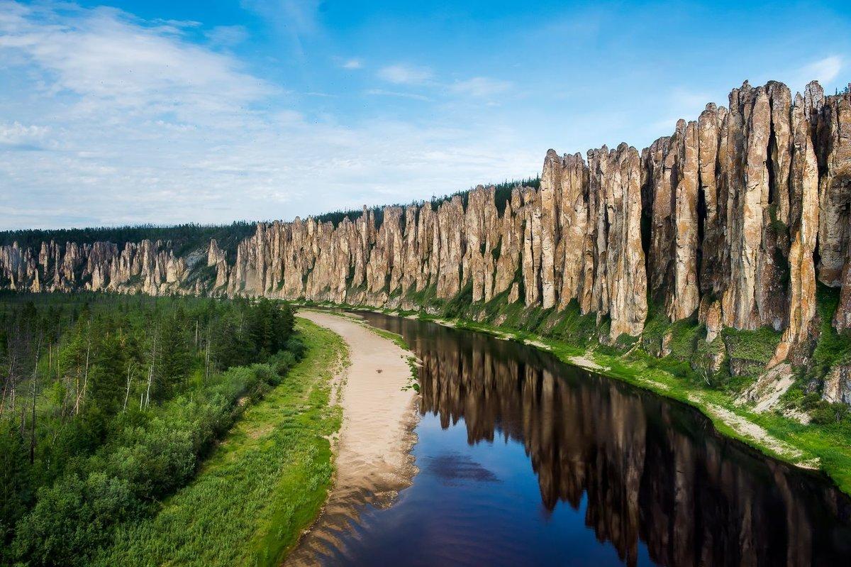 Экскурсия на Ленские столбы