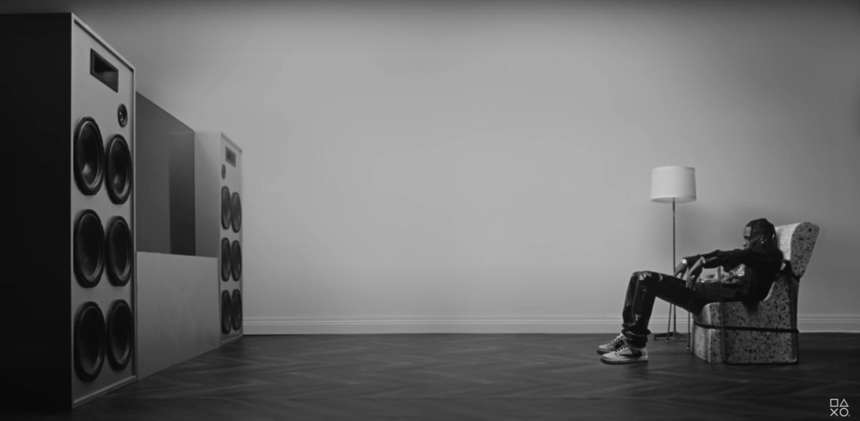 Рэпер Travis Scott снялся в рекламном ролике PlayStation 5