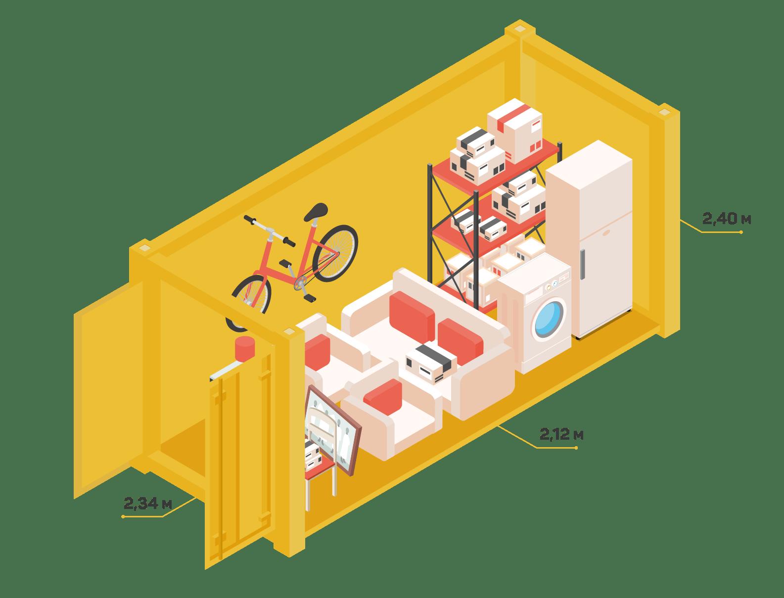 хранение велосипедов в спб