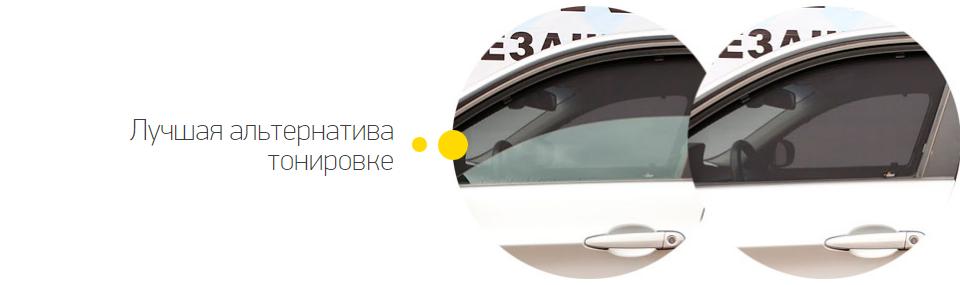 Автомобильные солнцезащитные экраны Trokot - легальная тонировка нового поколения!
