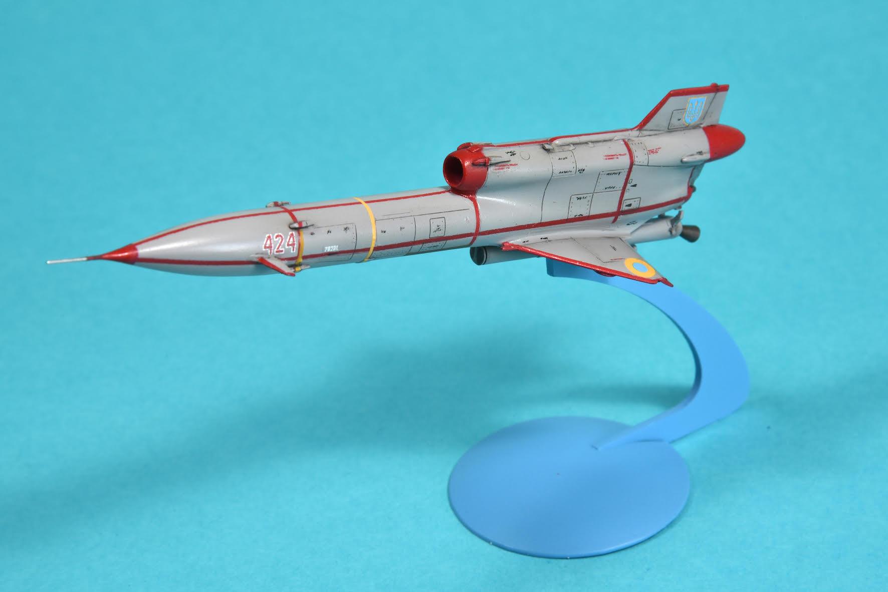 in 1//72 von Clear Prop decals: UA, RU, CZ, RO TU-143 REYS