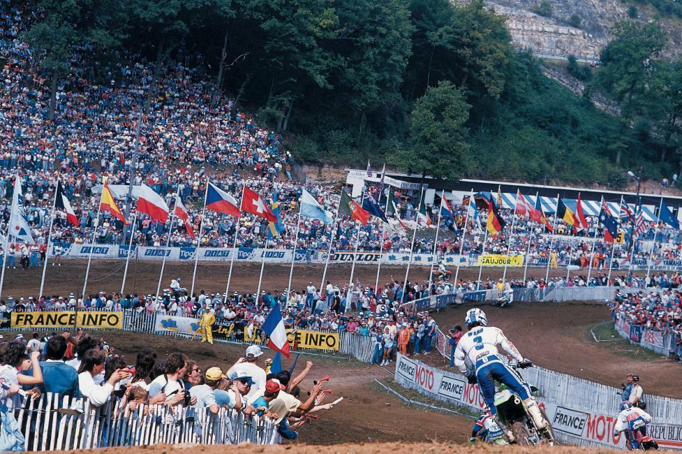 Эхо минувших гонок: Мотокросс Наций 1988 года