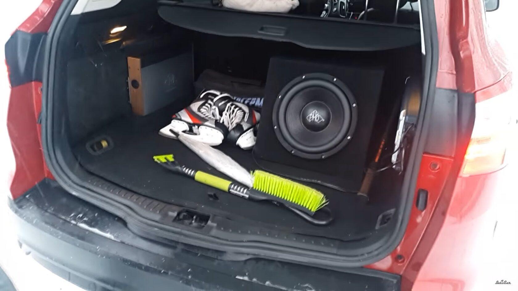 усилители и сабвуфер в форд фокус 3