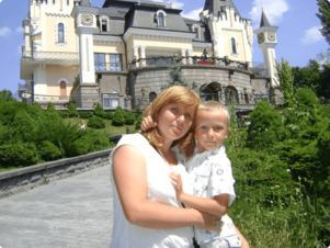 Вікторія Маковкіна, мама