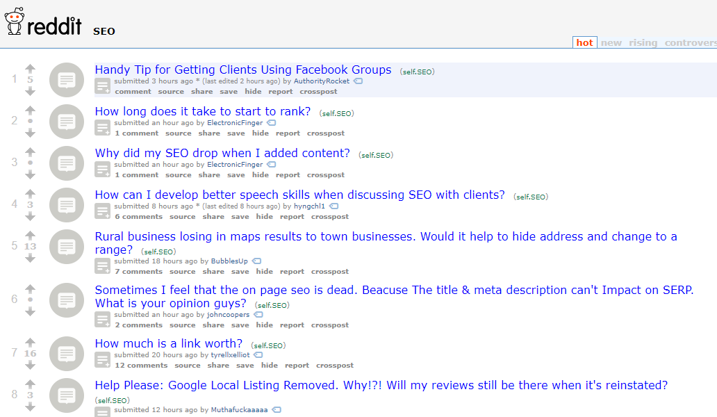Top 15 SEO And Internet Marketing Forums To Learn And Promote