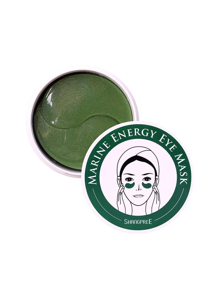 Гидрогелевые патчи для век, с морским коллагеном и экстрактом водорослей. Shangpree Marine Energy Eye Mask