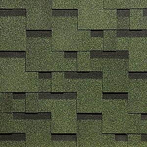 Черепица для детского домика Акорд зеленый