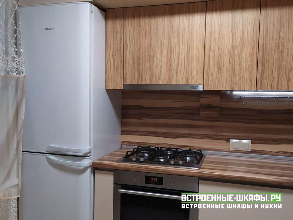 Встроенная угловая кухня изготовленная на заказ