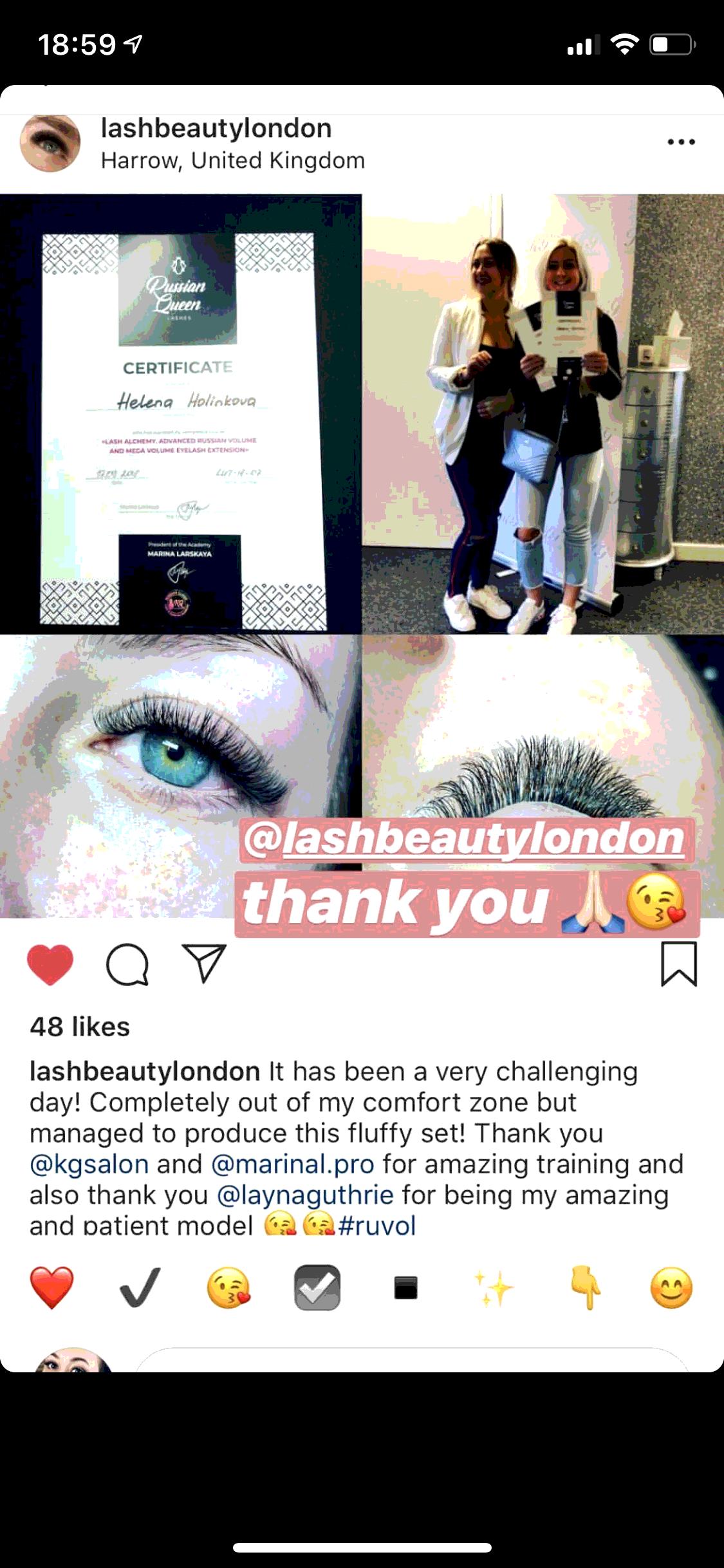 68a776c8c97 Eyelash extension courses at international academy RQLashes