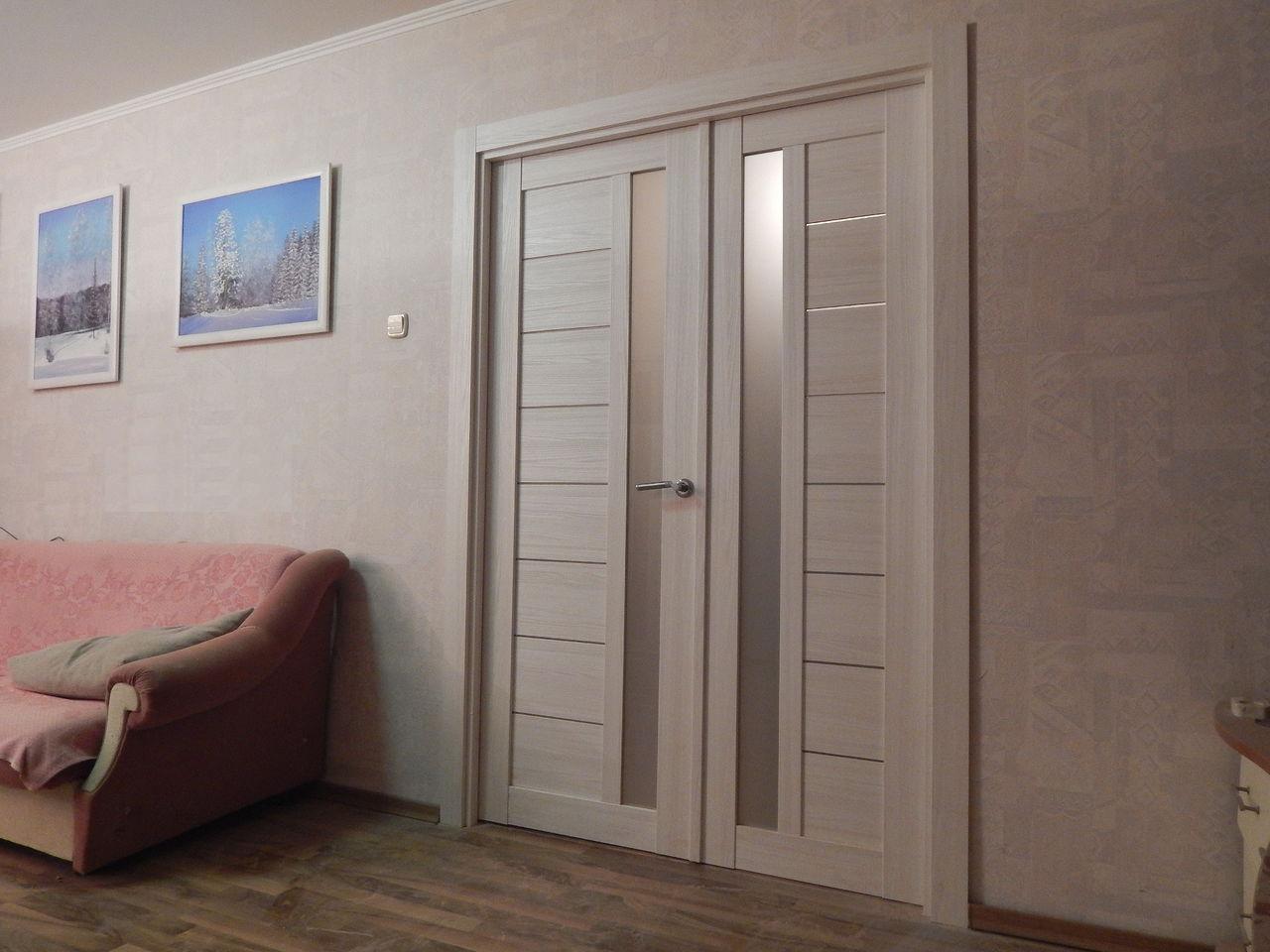 квартира с царговыми дверями