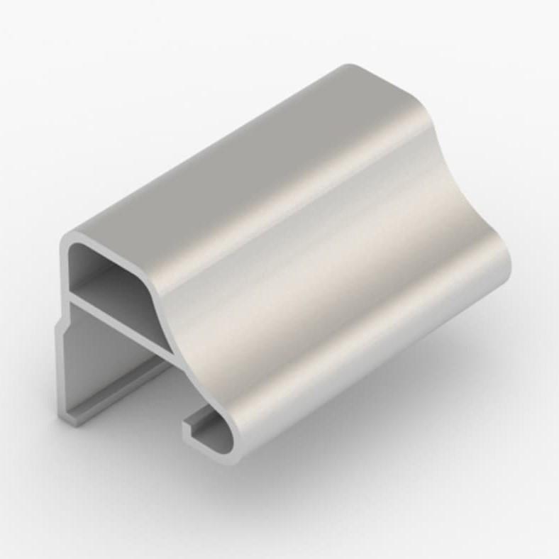 профиль ручка для шкафа купе 16 мм