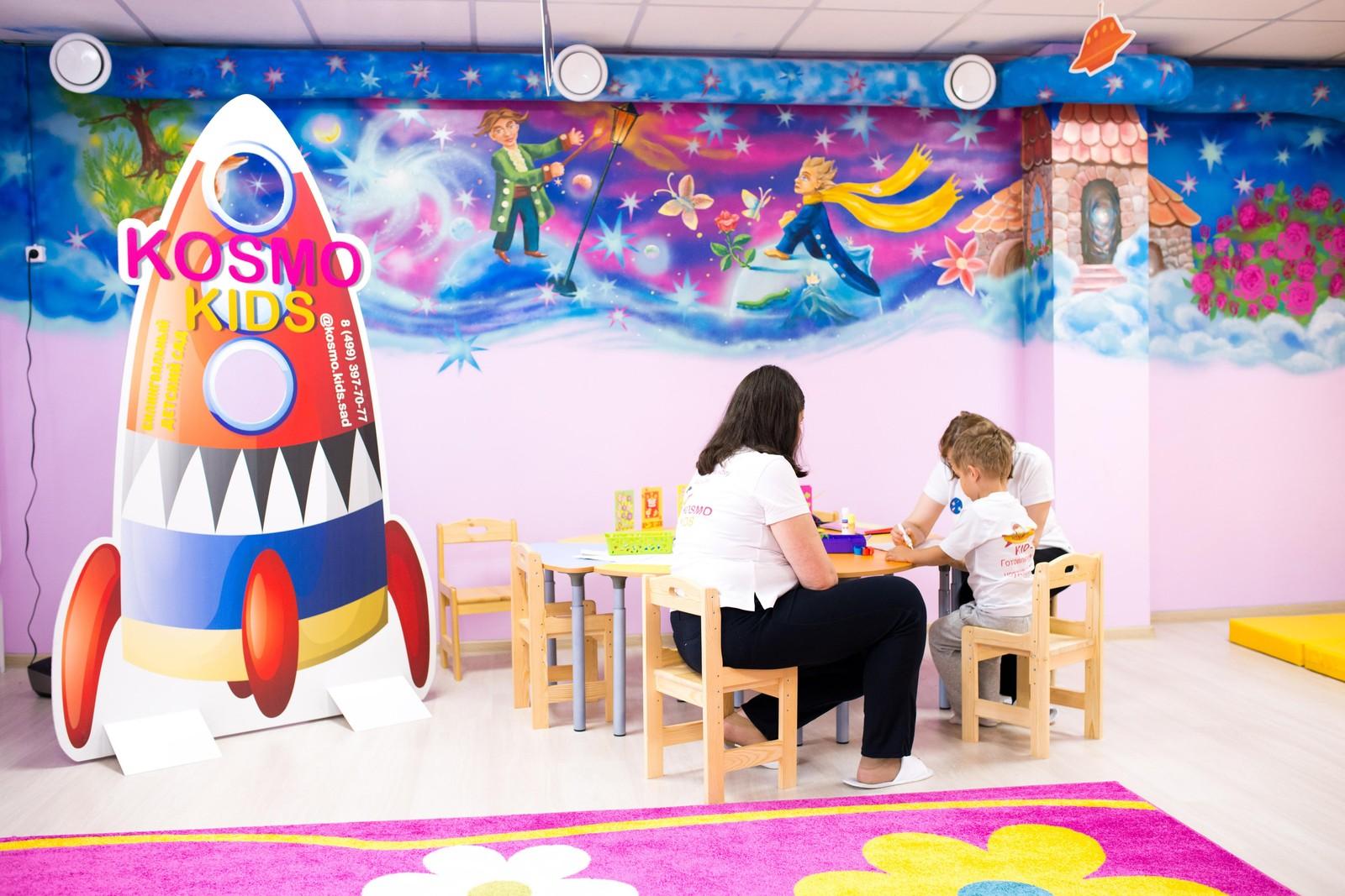 Купить франшизу детского сада Космо Кидс | Купить франшизу.ру