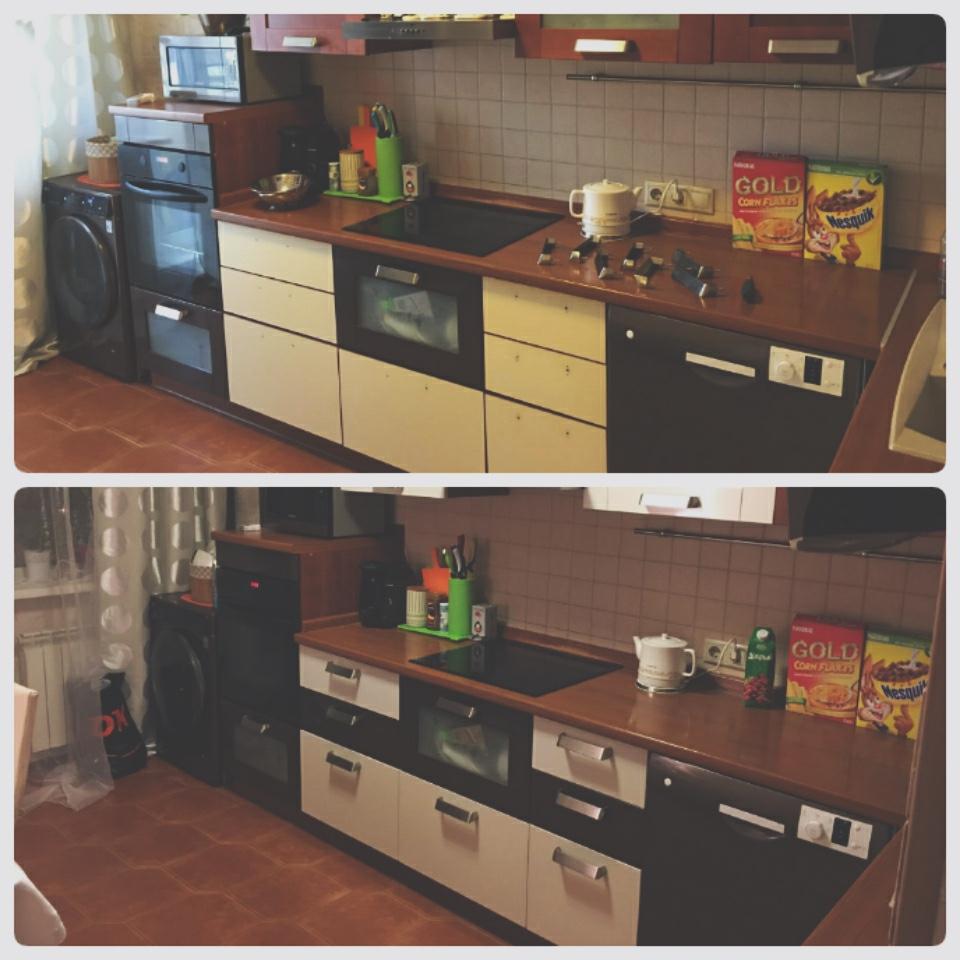 Самоклейка для мебели фото до и после