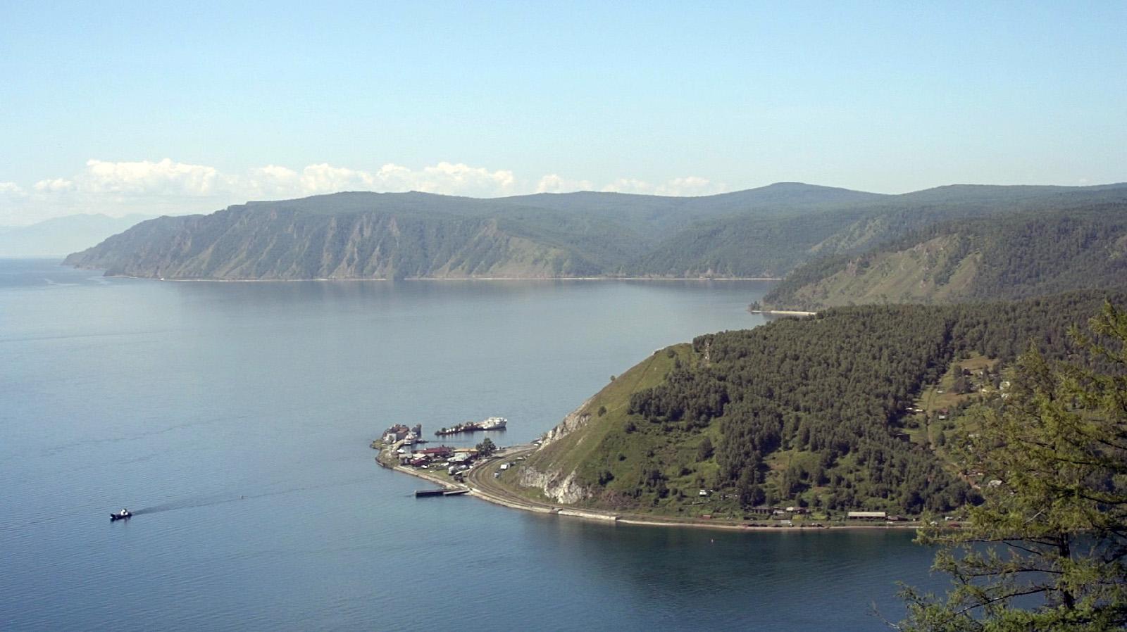 Байкальская переправа. Порт Байкал