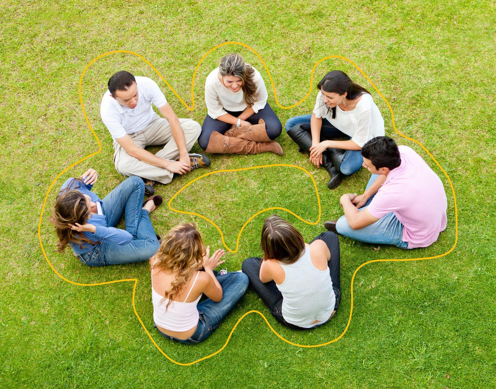Фото о малых группах