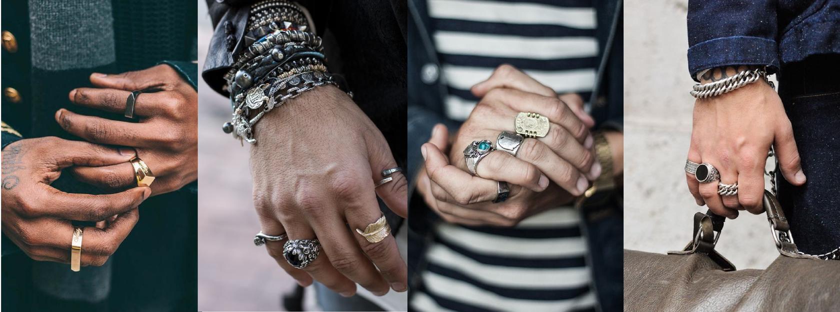 Мужской украшения с драгоценными камнями фото