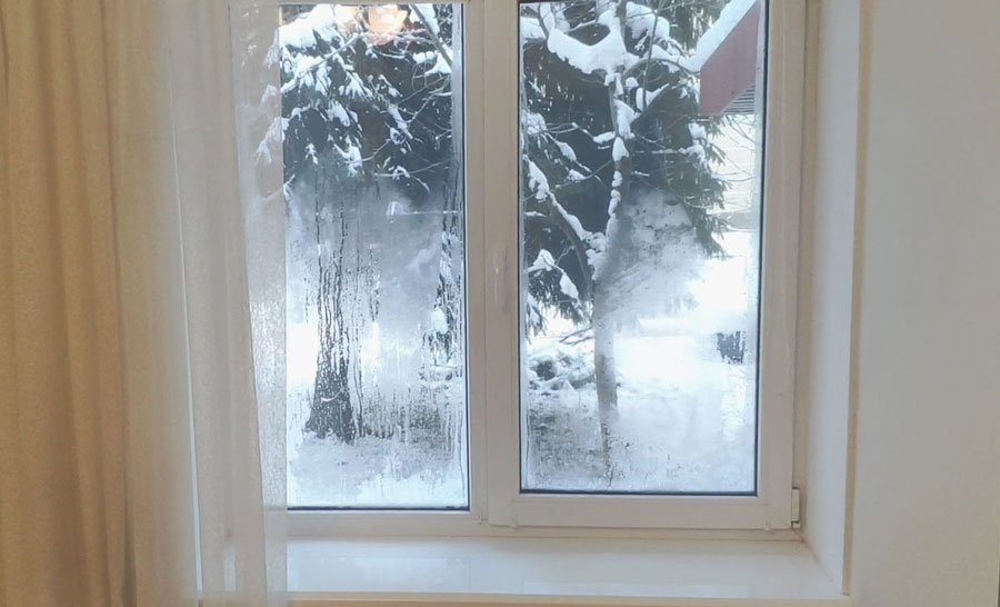 конденсат на вікнах пластикових