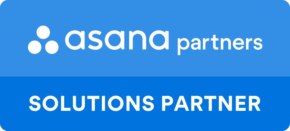 Asana Solutions Partner badge