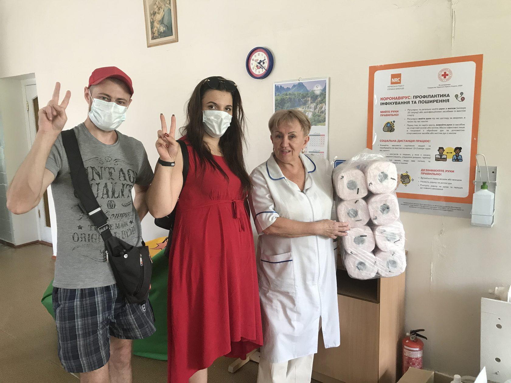Активисты Партии Шария помогли Центру реабилитации