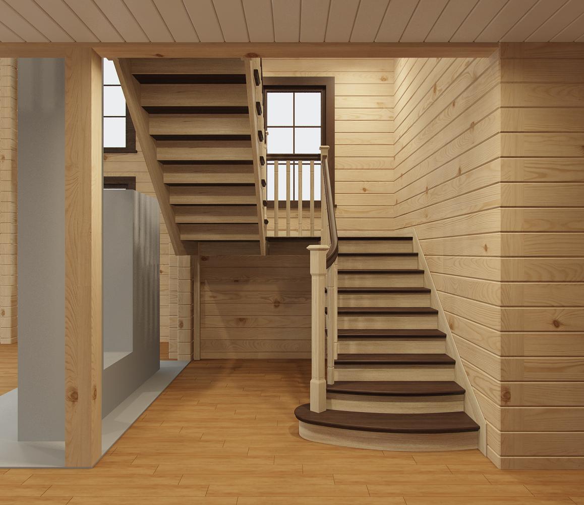 думают, что проекты лестниц на второй этаж фото глядя