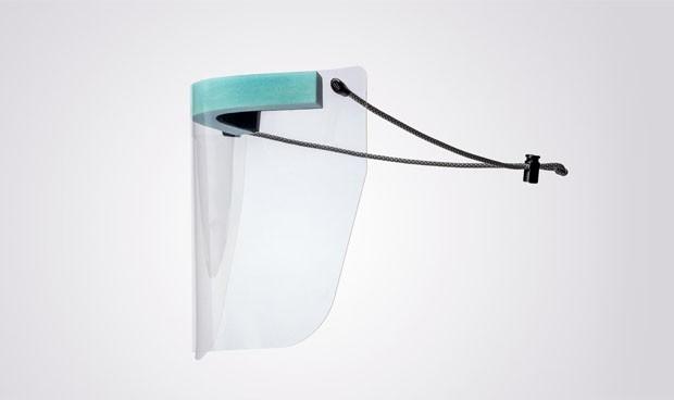 Transparente visera protectora resol grupo 21414 Pack 2 unidades pantalla protecci/ón facial mascarilla