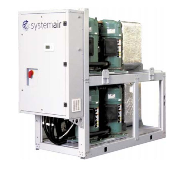 Чиллеры systemair с водяным охлаждением