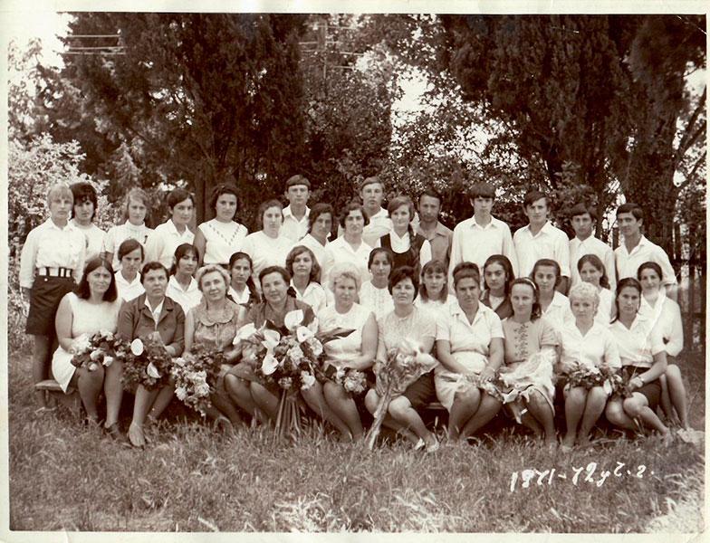 Выпускники 1972 г