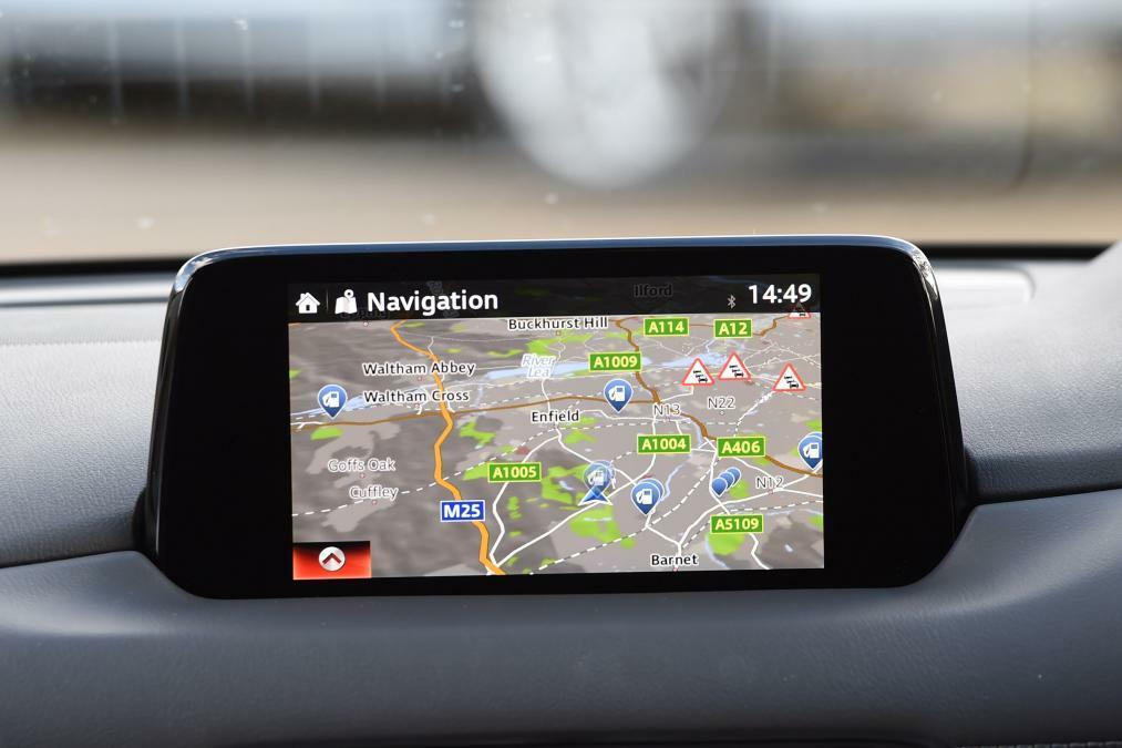 Настройка навигации мазда